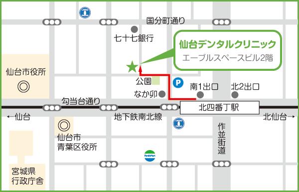 仙台DC地図